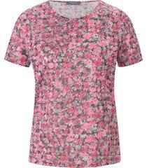 shirt met ronde hals en korte mouwen. van mybc multicolour