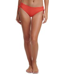 dkny side-tie bikini bottoms women's swimsuit
