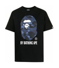 a bathing ape® ape head print t-shirt - preto