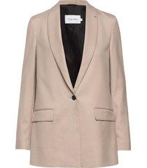 coloured suit long b blazer kavaj beige calvin klein