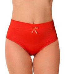 calcinha vip lingerie alta castanho vermelho