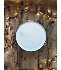 ceramiczny talerz obiadowy carbon