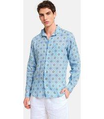 peninsula swimwear shirt filicudi linen