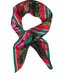 starlight printed silk scarf