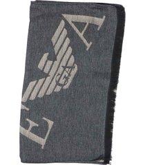 emporio armani man woven scarf scarf
