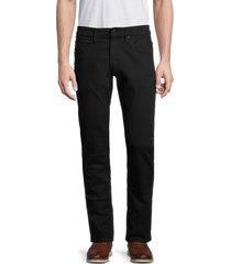 buffalo david bitton men's ash-x slim stretch-fit jeans - black rinse - size 31 32