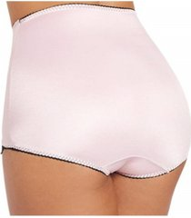 "rago ""v"" leg light shaper panty brief in s to 2x"