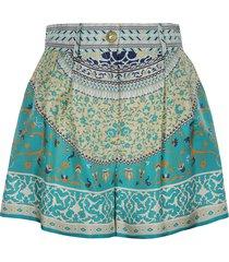 pattern printed skirt