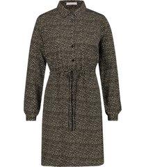 freebird spot-vis-01 mini dress long sleeve bridget olive