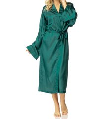 honey minx hummingbird kimono wrap robe, online only