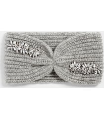 maurices womens gray bedazzled headband