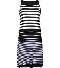 dress americ knälång klänning svart tom tailor