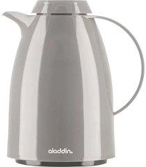 garrafa térmica tipo bule aladdin verona 0,75 litro cinza