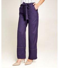 pantalón lazo azul 6