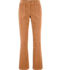 pantaloni di velluto con tasche (marrone) - bpc bonprix collection
