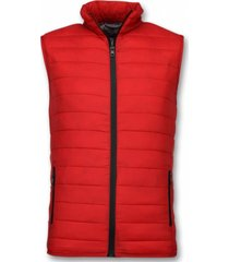 y chrom bodywarmer heren rood