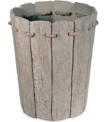 destinations driftwood 2 waste basket bedding