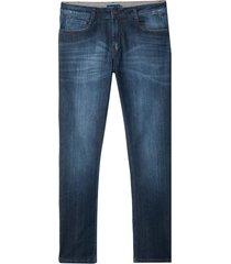 calça dudalina jeans dark blue masculina (jeans escuro, 50)