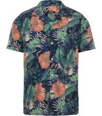 seasonal print ss resort shirt