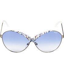 65mm round metal sunglasses