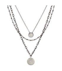 women's ela rae triple layer necklace