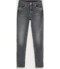scotch & soda haut - touch of dust | stretch high-rise skinny fit jeans
