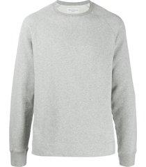 officine generale long sleeve sweatshirt - grey