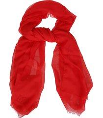 m missoni m missoni embroidered scarf