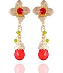nanette lepore winter garden flower drop earrings