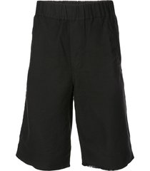 rta tapered shorts - black