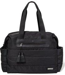 bolsa maternidade skip hop - coleção riverside ultra light satchel - black