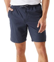 "tommy bahama men's oceanside poplin 8"" elastic waist shorts"