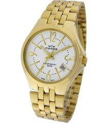 reloj dorado montreal style