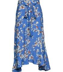 adore skirt knälång kjol blå odd molly