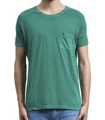 camiseta salt35g pocket green verde