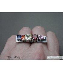 belka muticolor - pierścionek