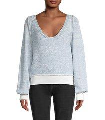 riptide v-neck sweater
