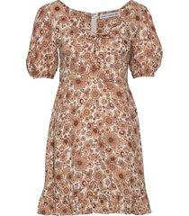 agathe mini dress korte jurk roze faithfull the brand