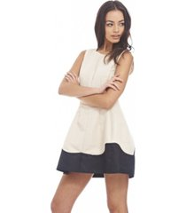 ax paris structured wave skater dress
