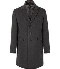 padded coat with vest