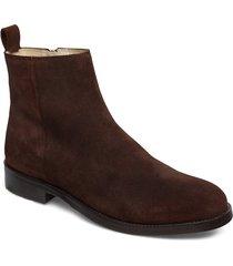 bond ankle boot suede shoes chelsea boots brun royal republiq