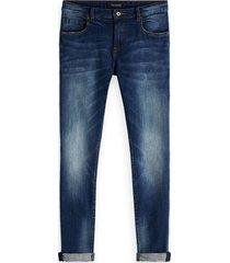 jeans kimono yes blauw