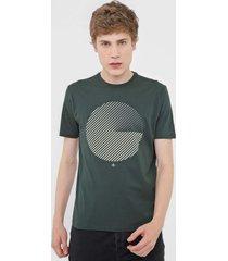 camiseta dudalina circl verde
