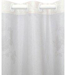 cortina  santista 180x280 cali olivia - cinza - dafiti