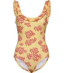paya swimsuit baddräkt badkläder gul lovechild 1979