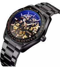 reloj automático hombre skmei 9194 negro