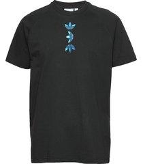 zeno tee t-shirts short-sleeved svart adidas originals