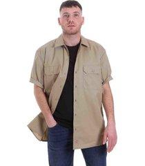 overhemd lange mouw dickies dk001574khk1