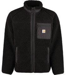 carhartt fleece bomber jacket
