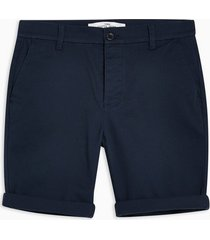 mens navy stretch skinny chinos shorts